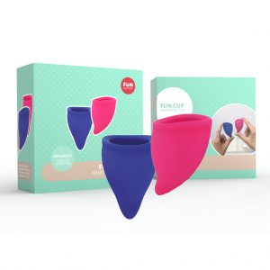 Menstruatie cup Fun Factory Kit A B